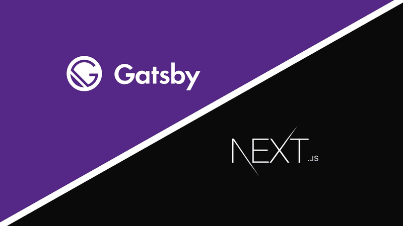 Gatsby.js vs. Next.js | First impressions with the best react framework tools currently!