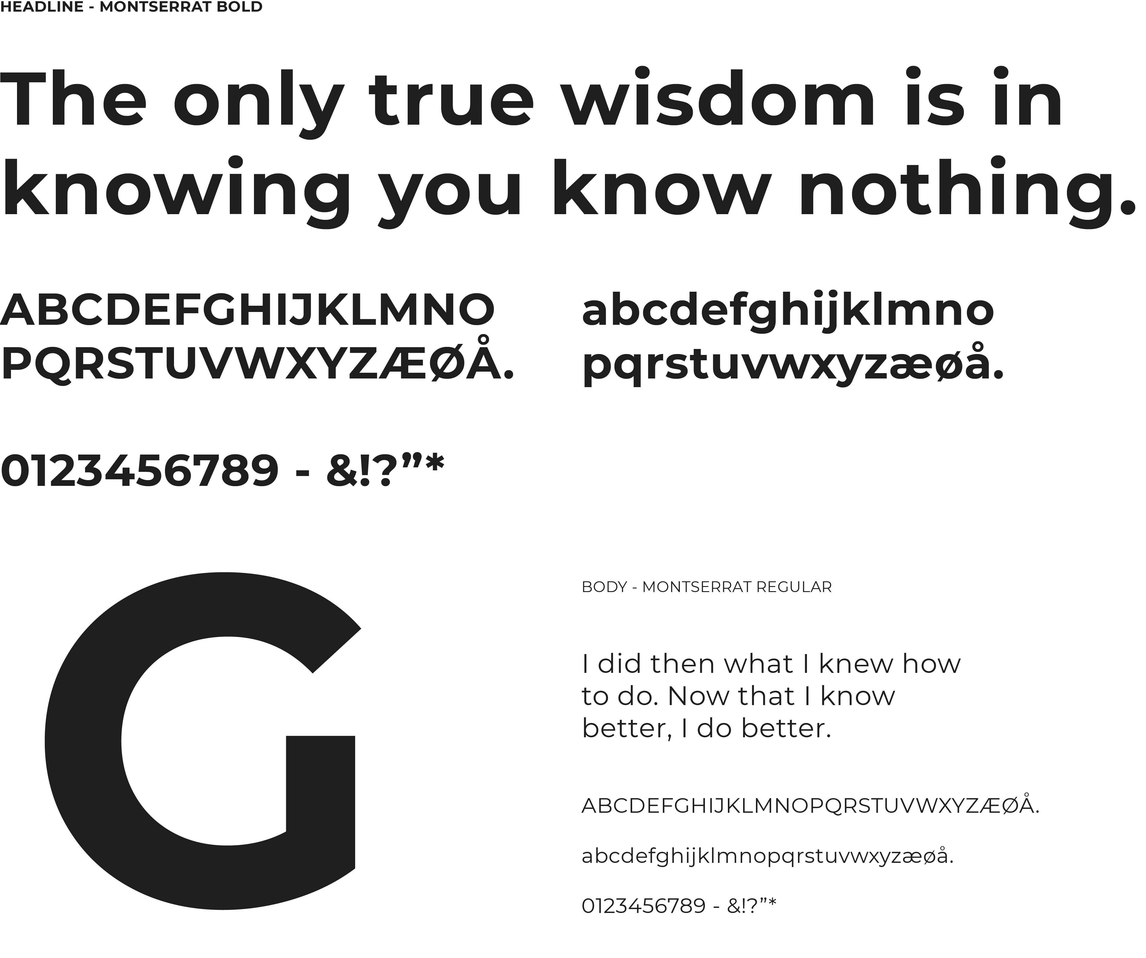 Knowledge Gate Group Typography