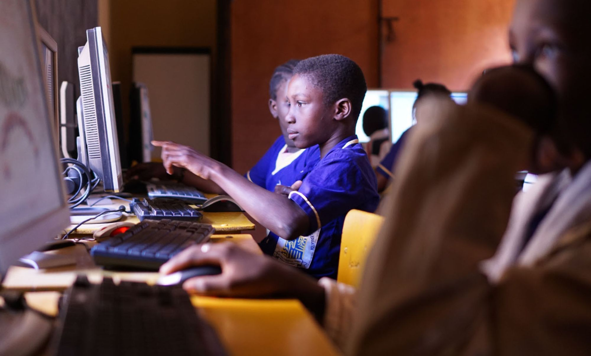 Every child deserves a ticket to digital literacy.
