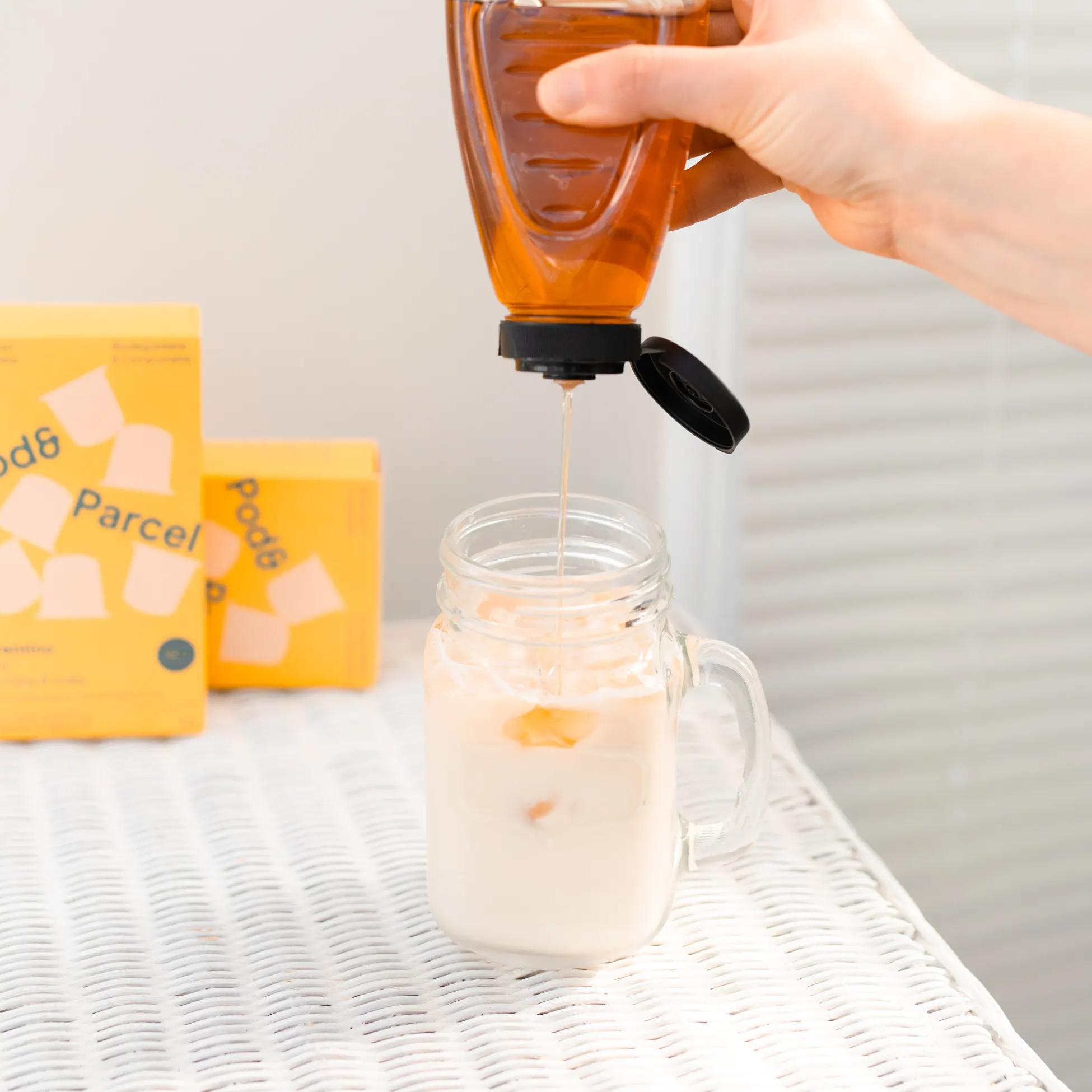 add a dash of caramel
