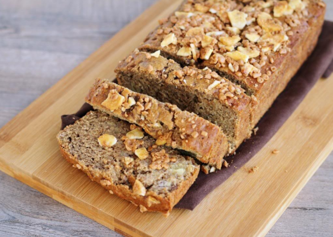 Expresso Toffee Banana Bread