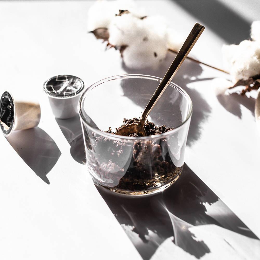 Coffee Scrub in Glass