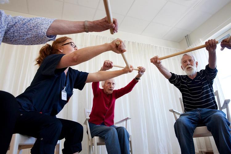 Aktivitet og omsorg står sentralt hos Vestre Nes.