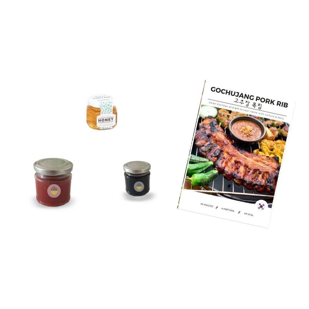 Gochujang Pork Rib Box