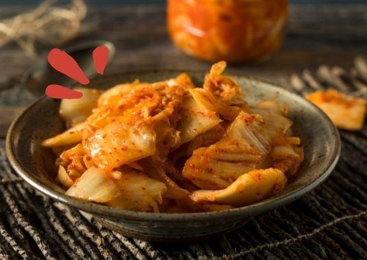 Kimchi - fermentierter Kimchi ist ganz anders als Kohl