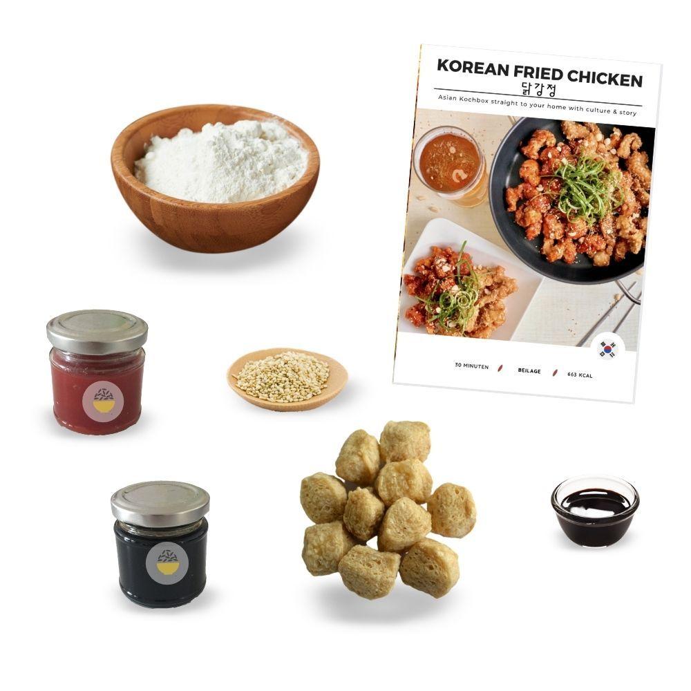 Veggie Korean Fried Chicken Box