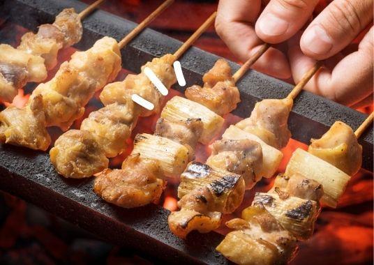 Gegrillte Frühlingszwiebeln mit Yakitorisoße - die volle Umami-Geschmack Dröhnung