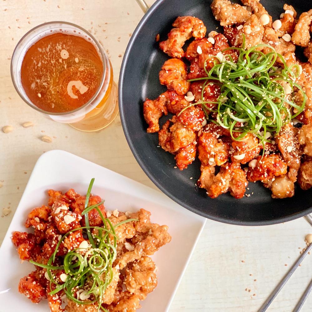 Veggie Korean Fried Chicken