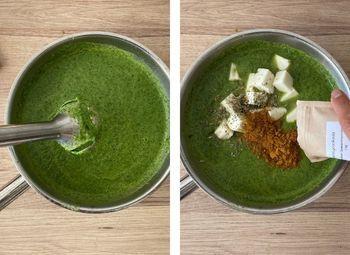 Mischen der Curry Basis