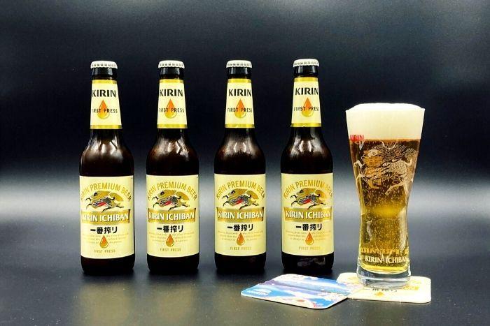 Kirin Ichiban Bier-Set
