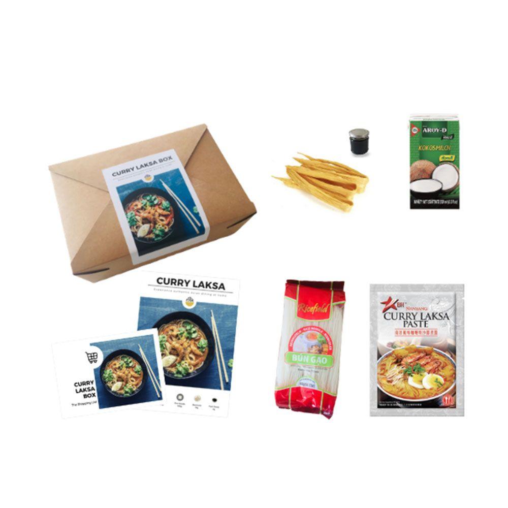 Curry Laksa Box