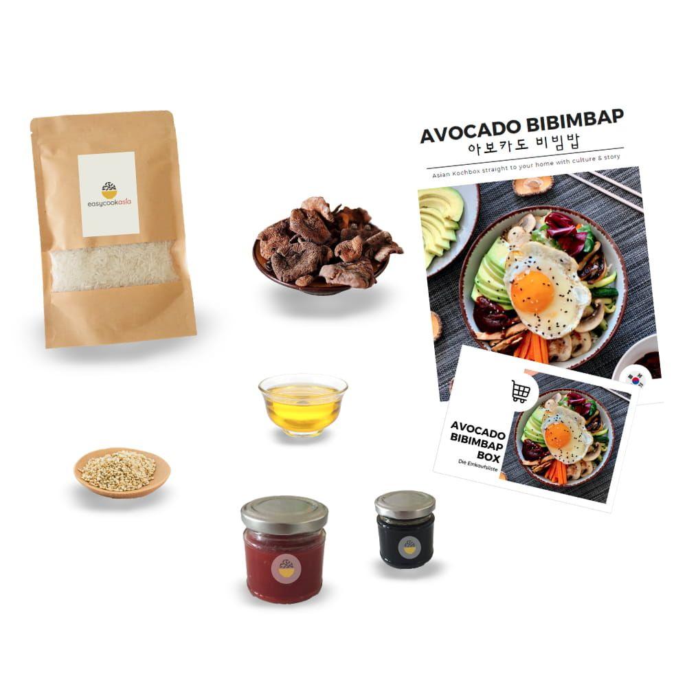 Avocado Bibimbap Box