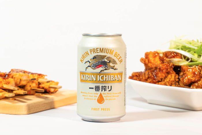 Kirin Ichiban Bier