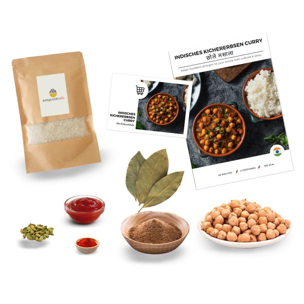 Kichererbsen Curry Box