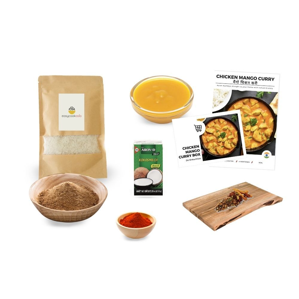 Chicken Mango Curry Box