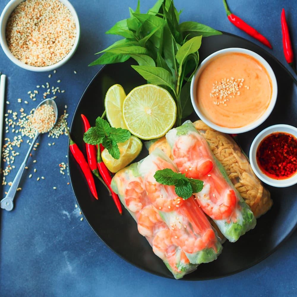 Vietnamesische Frühlingsrolle