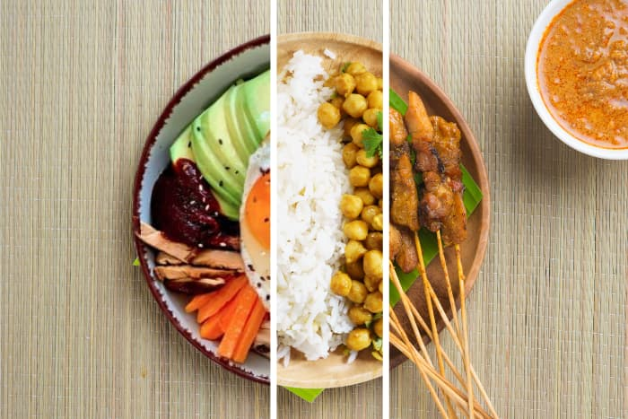 Asiatisch Vegetarische Box
