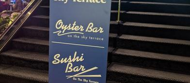 Cover Image for Atlantis Sky Terrace Oyster Bar Review