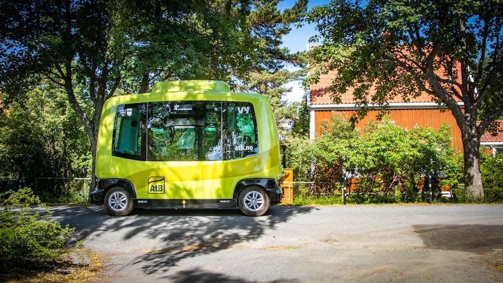 Selvkjørende buss i aksjon