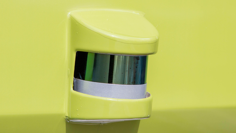 Sensor på bussen