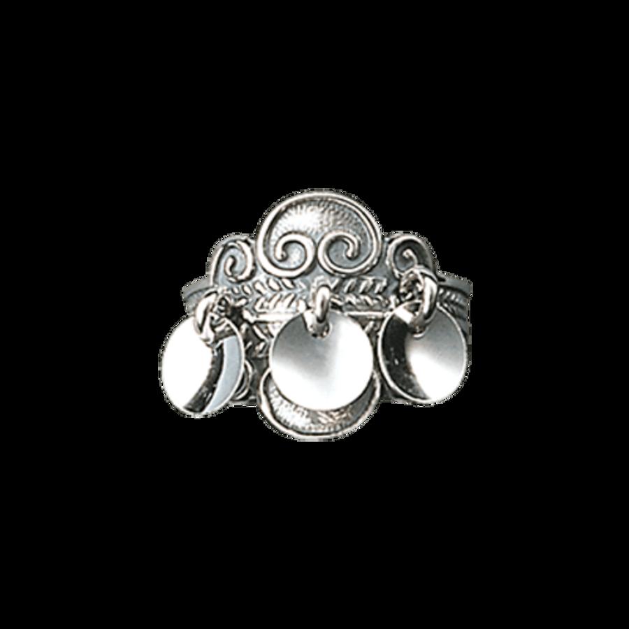 Bilde av Ring, oksidert m/flere løv