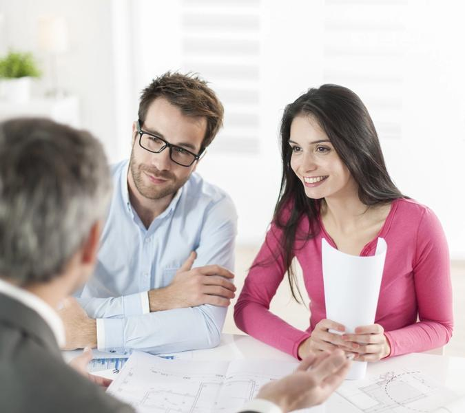 potential homebuyers asking about USDA Home Loan to a Phoenix mortgage lender