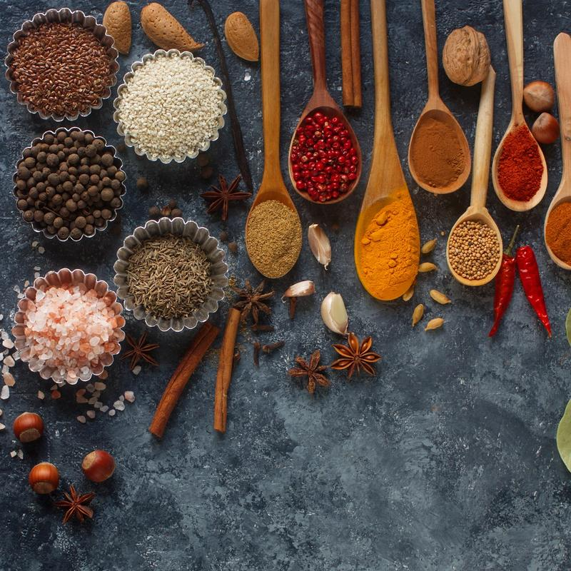 How to Use the Spice Rack to Cook Healthier Meals