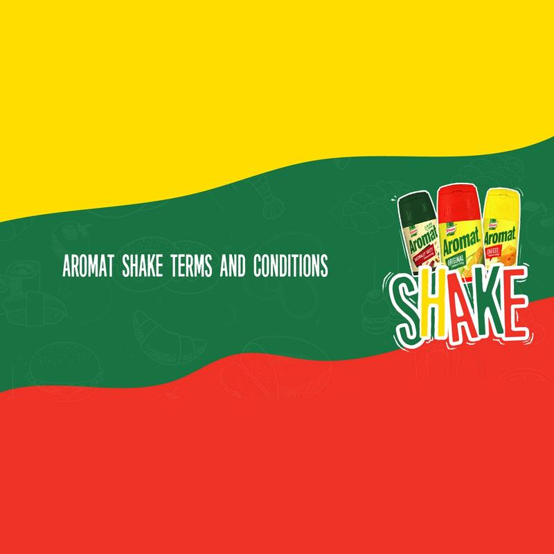 Aromat Shake Competition - Terms and Conditions