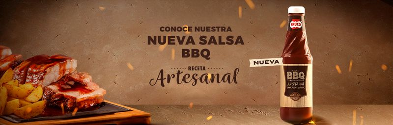 Nueva Salsa BBQ Receta ArtesanalFruco