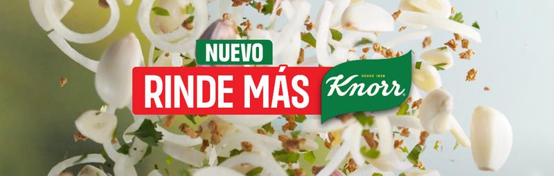Nuestros ingredientes de RINDE MÁS de knorr