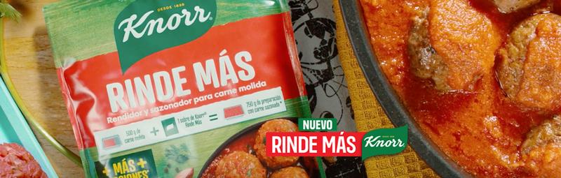 Descubre el nuevo Rinde Más de Knorr
