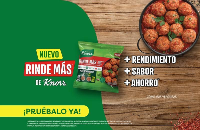 Rinde Más de Knorr®