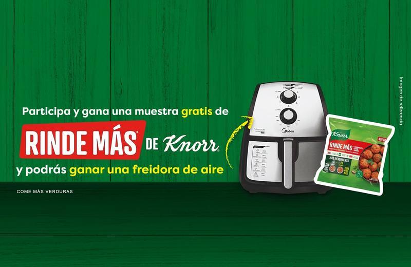 Concurso Freidora de Aire | Muestras Rinde Más de Knorr®