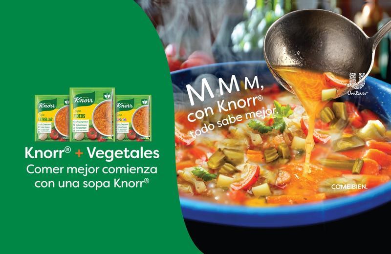 ¿Quieres comer mejor? Empieza con una sopa Knorr®