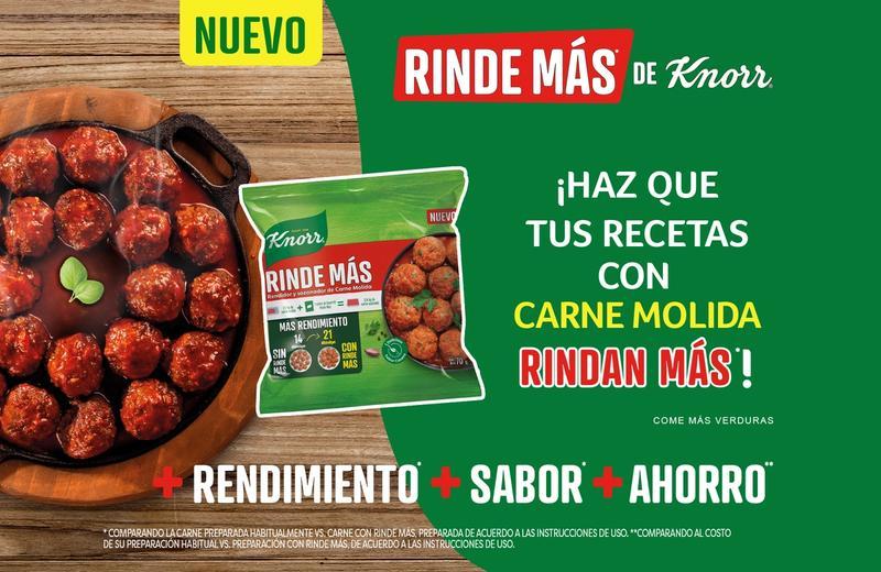 7 Recetas que Rinden Más con Knorr®
