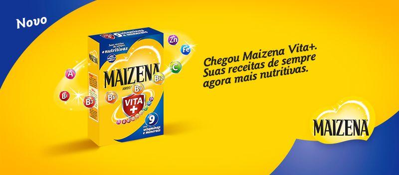 Maizena Vita+: suas receitas de sempre, agora mais nutritivas!