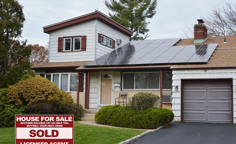 Solar helps you sell your home faster and for more money
