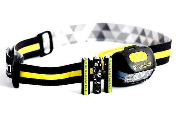 Rechargable headlamp