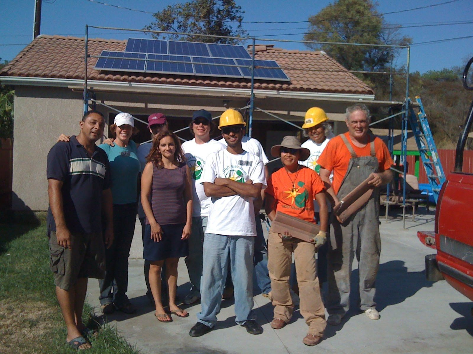 solar panels + grid alternatives = fun