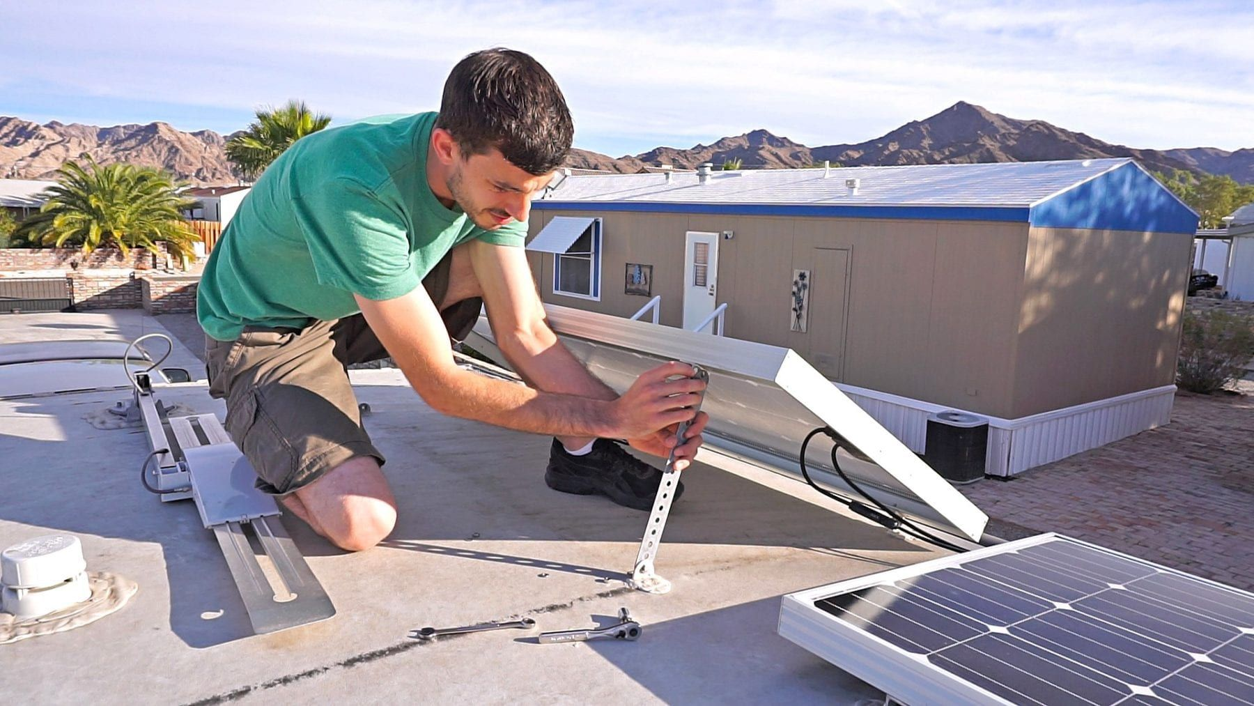Does Tilting Solar Panels Make Sense?