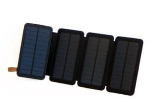 Solar Charger with Powerbank