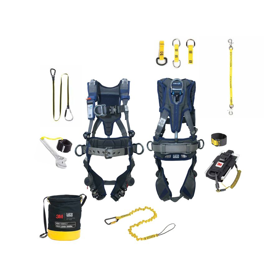 3M fall protection equipment