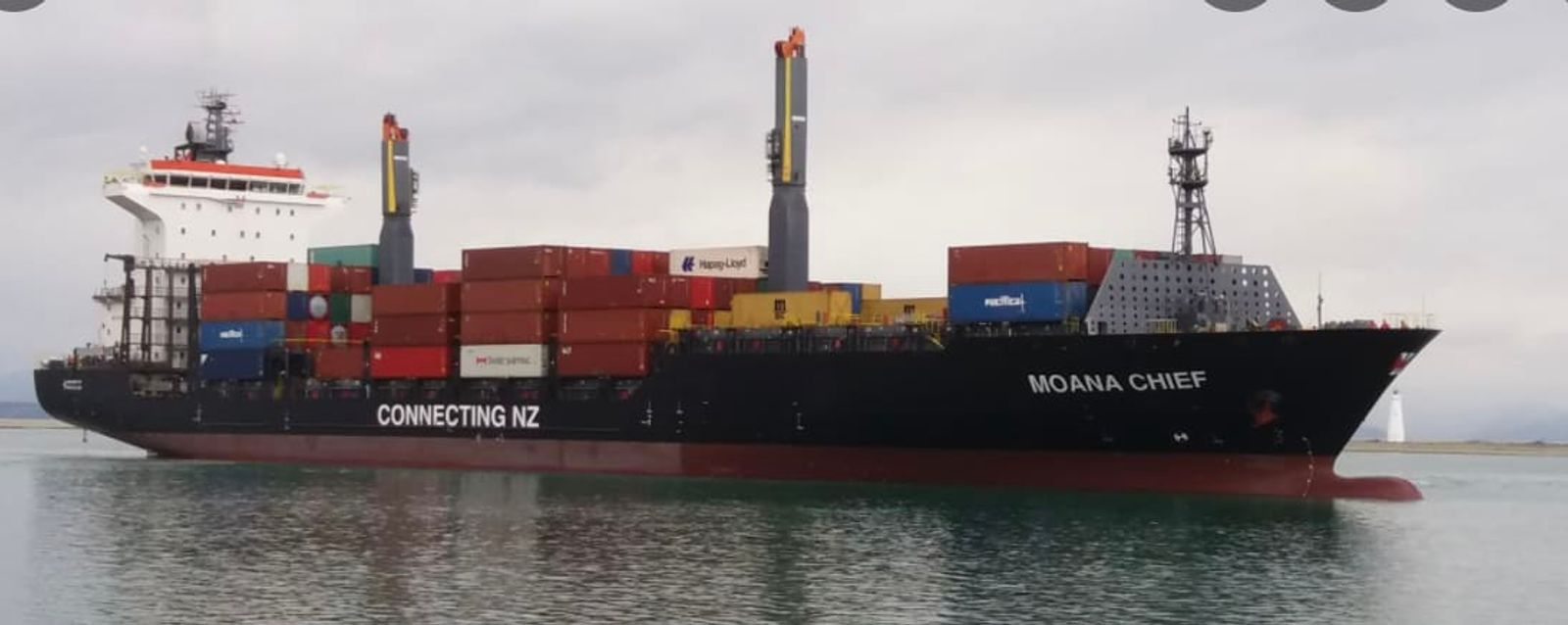 There used to be nine NZ-flagged container ships. Now there's only one.  Photo: Supplied to Newsroom