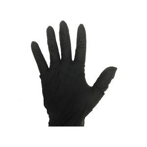 Black Nitrile Disposable Gloves