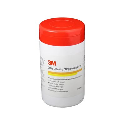 3M™ Cable Cleaning/Degreasing Wipes