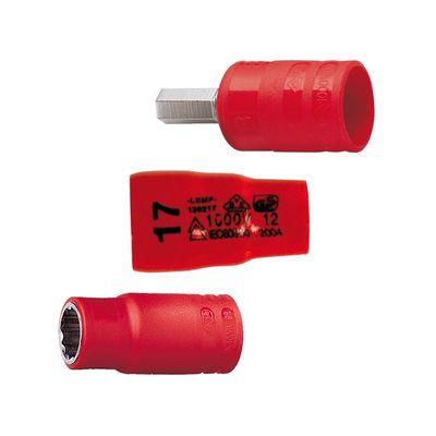 """Insulated Sockets - 3/8"""""""