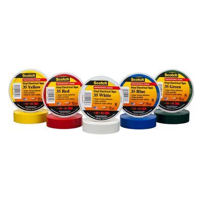 Scotch® Vinyl Colour Coding Electrical Tape 35