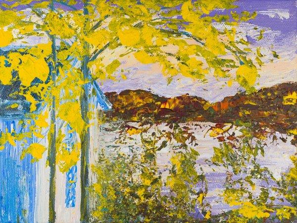 Autumn on the border | Art Lasovsky