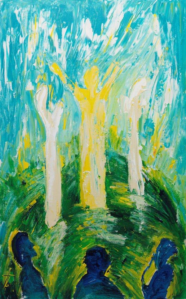 The Transfiguration Mountain | Art Lasovsky