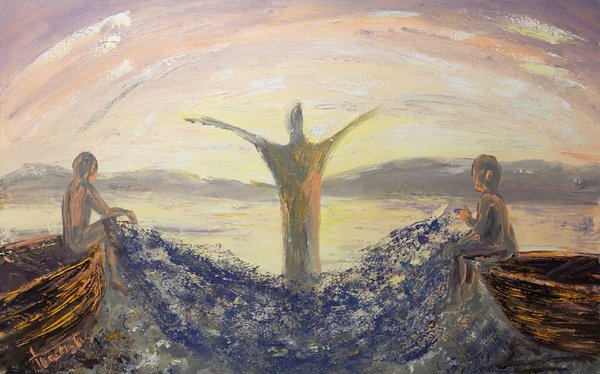 Calling of the disciples | Art Lasovsky